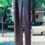Stand, Painted Steel, Brooklyn Public Library