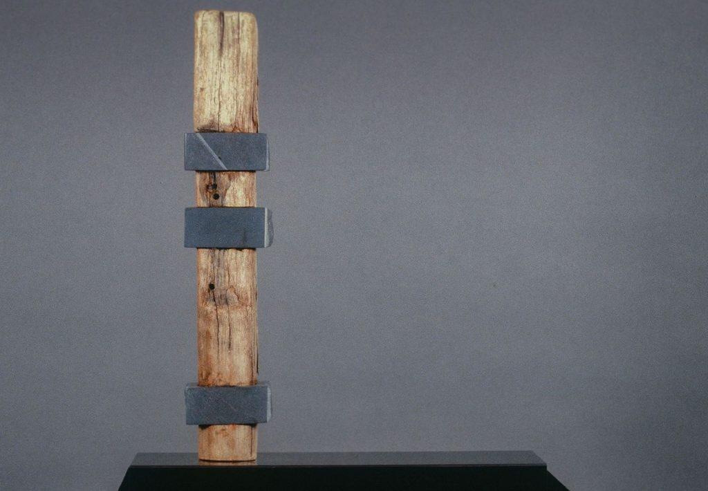 "Untitled, Wonderstone, Wood: 12""x11""x2"""
