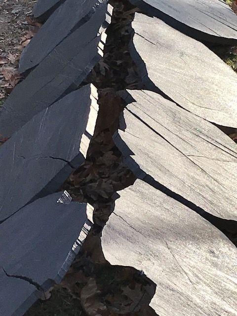 Furrow, Locust, Detail