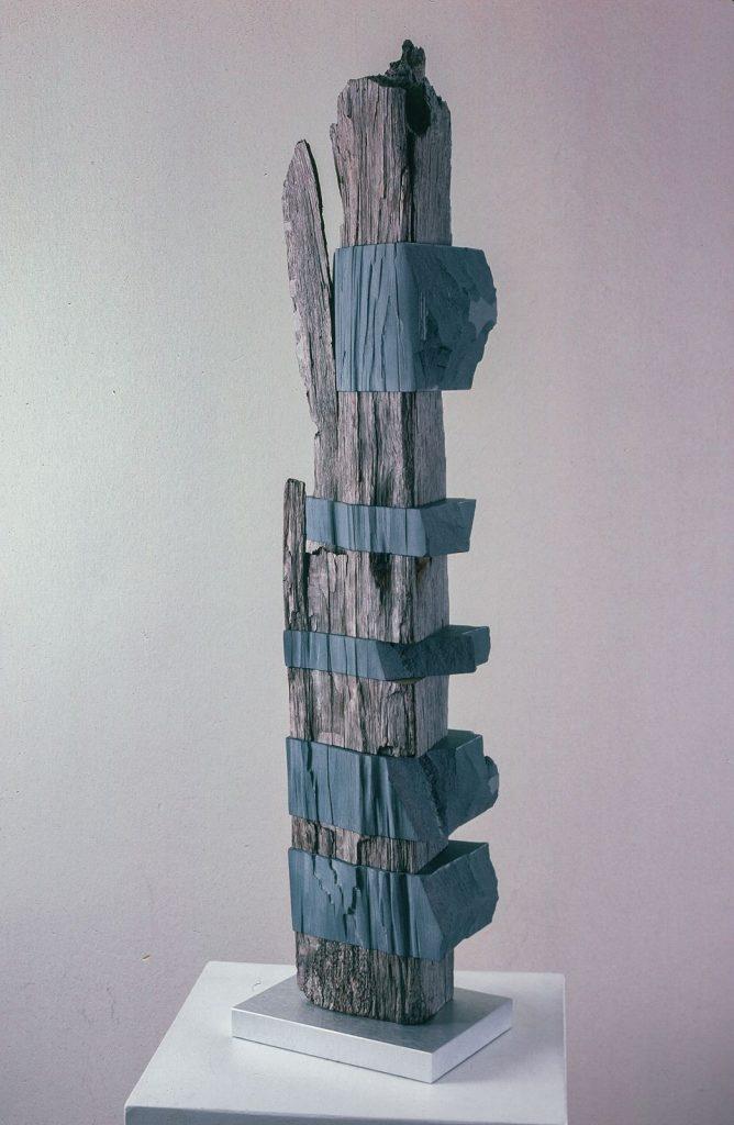 "Untitled, Wonderstone, Wood: 37""x7""x5"""
