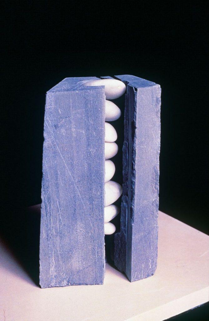 """Geod, Wonderstone, Beach stone: 7""""x4""""x4"""""""